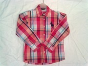 Wholesale brand name kids clothing-fashion boy shirts