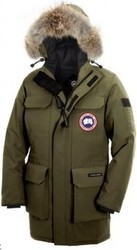 CHEAP CANADA GOOSE CITADEL PARKA MILITARY GREEN MEN FREE SHIPPING $325