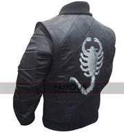 Ryan Gosling Black Drive Scorpion Jacket
