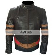 X-Men Wolverine XO Biker Leather Jacket