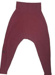 Siddhi Harem Pant SOLID WARRIOR WINE (NEW)