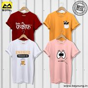 Online Shopping For T-shirts and Mobile Covers- Beyoung